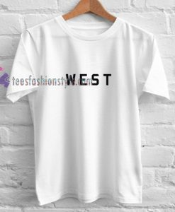 WEST Simple t shirt