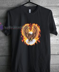 eagle flying shirt