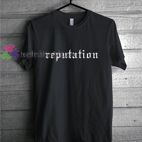 Reputation Simple T Shirt Gift Tees Unisex Adult Cool Tee