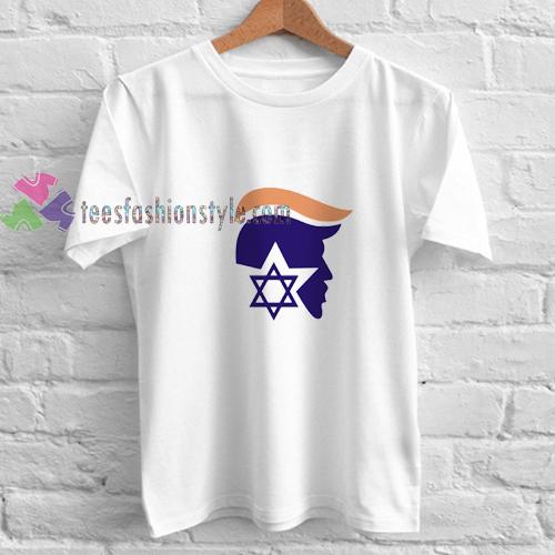 Trump X Israel t shirt