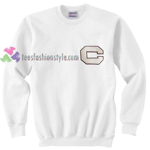 Simple font C Sweatshirt