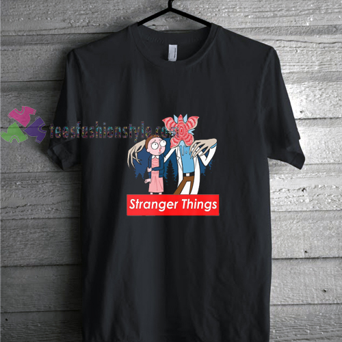 a1d89aa1bbf9 cartoon stranger things supreme t shirt gift tees unisex adult cool ...