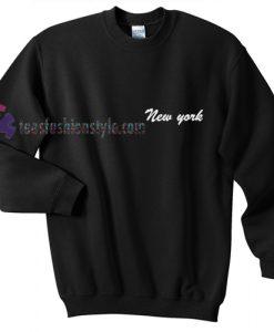New York pocket Sweatshirt