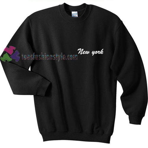 New York pocket Sweatshirt