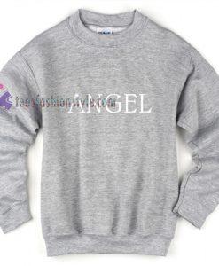 angel grey sweatshirt