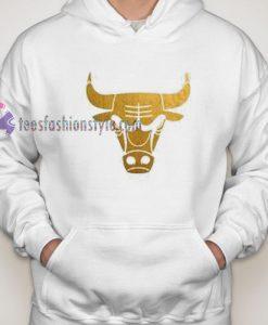 Bulls Gold Hoodie