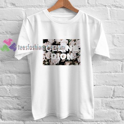 Celine Dion Roses t shirt