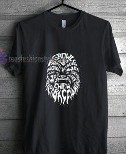 Chewbacca t shirt