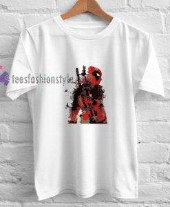 Deadpool Abatrack t shirt
