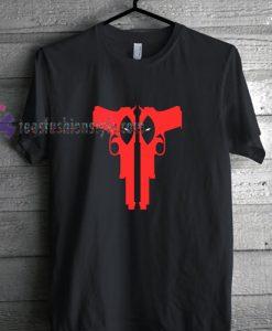 Deadpool Guns t shirt