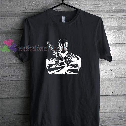 Deadpool Silouet t shirt
