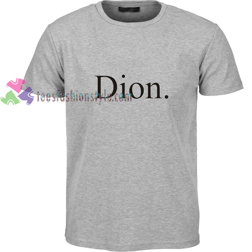 Dion Font t shirt gift tees unisex adult cool tee shirts buy cheap