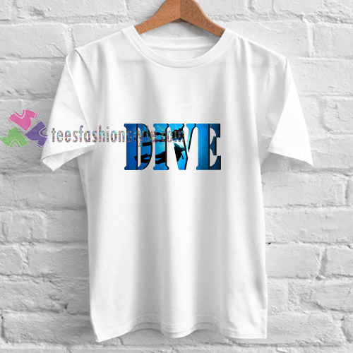 diving dive t shirt