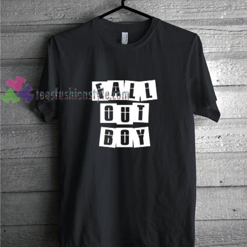 Fall Out Boy Box t shirt