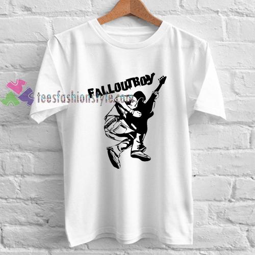 Fall Out Boy Guitar t shirt