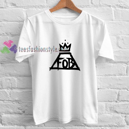 Fall Out Boy Logo t shirt