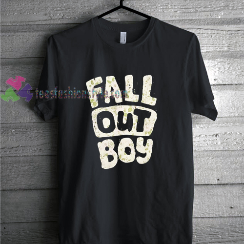 fall out boy pattern t shirt gift tees unisex adult cool