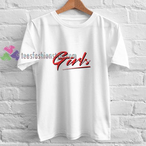 Girl Lettering t shirt