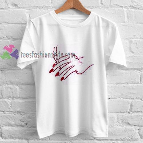 Hand and Smoke t shirt