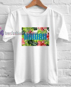 hawaii flower shirt