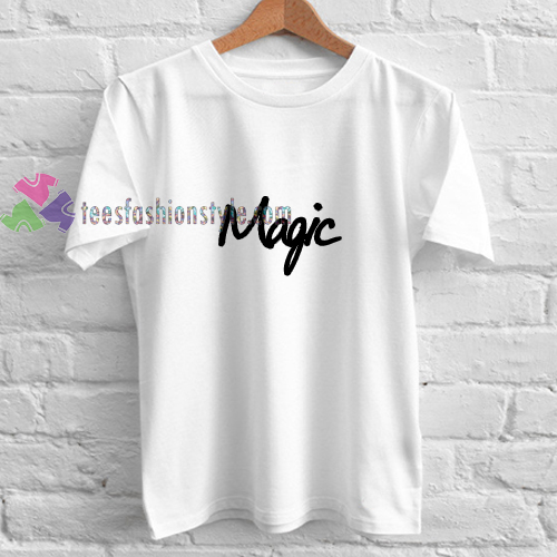 Magic Font t shirt