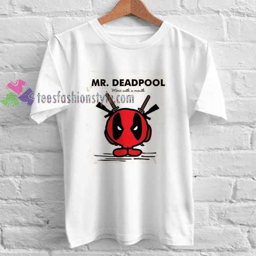 Mr Deadpool t shirt