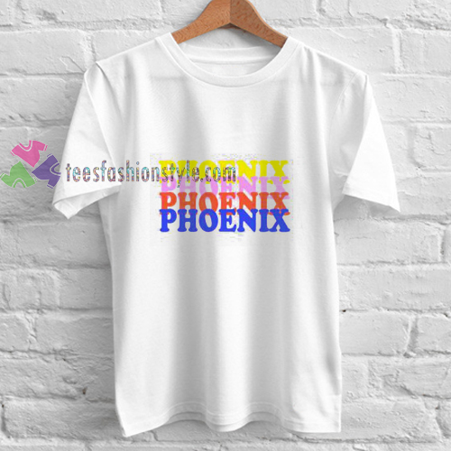 Phoenix Font t shirt