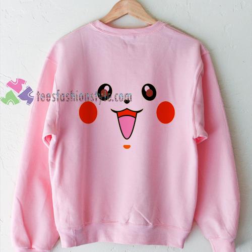 Pikachu Pink Sweatshirt