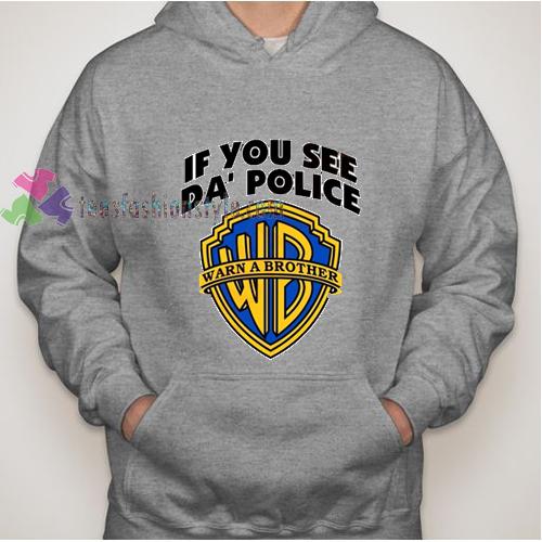 See Police Hoodie