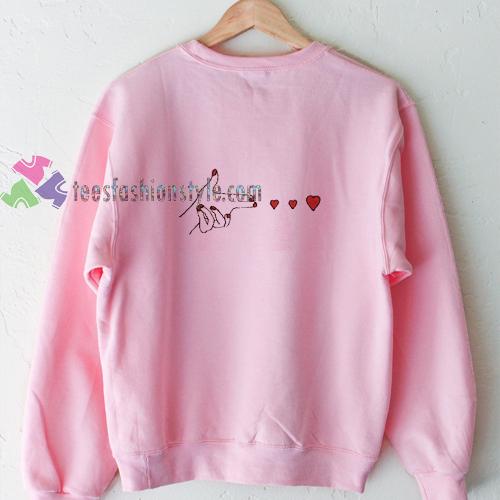 Shoot Love Sweatshirt
