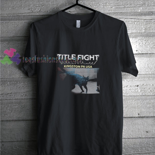 Title Fight t shirt