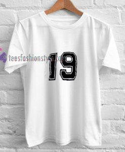 19 Ringer t shirt