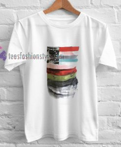 American Style Flag t shirt