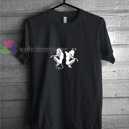 Angel and Devil t shirt