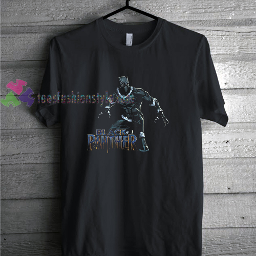 Black Panther Action t shirt