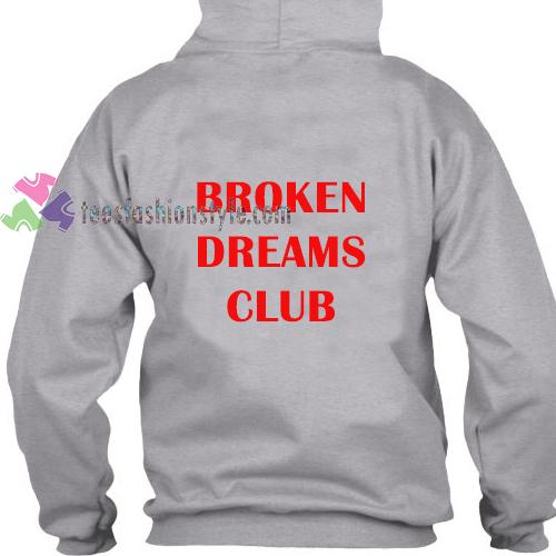 Broken Dreams Back Hoodie