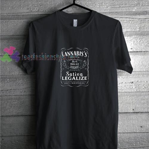 Cannabis t shirt
