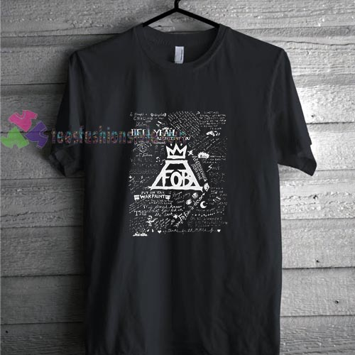 Fall Out Boy Note t shirt