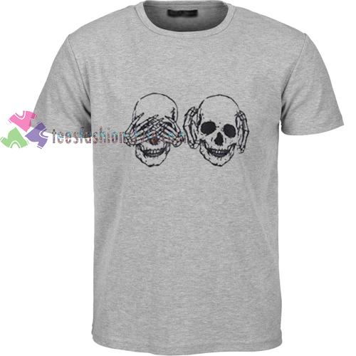 Evil Skull t shirt
