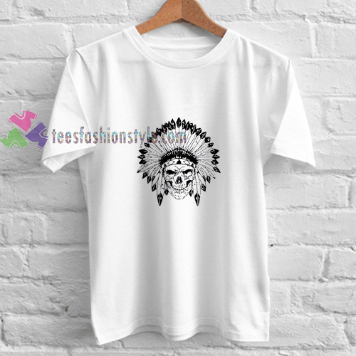 Indian Scull t shirt