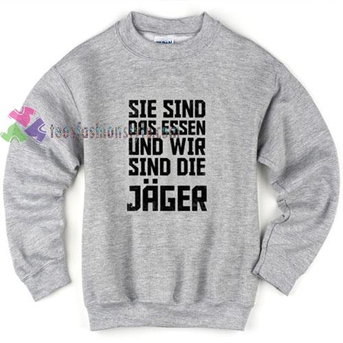 Jager Grey Sweatshirt