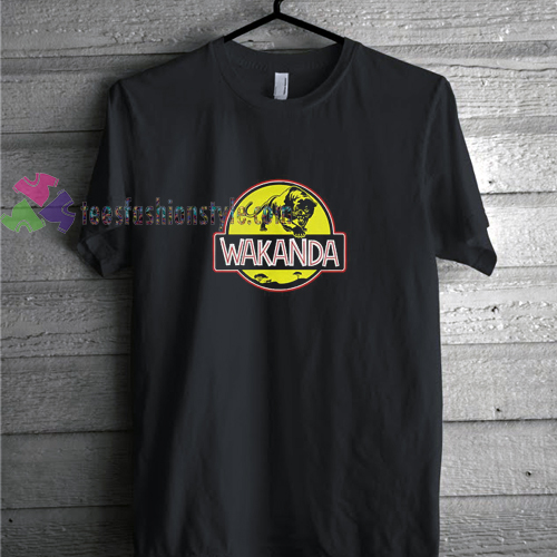 Necklace Panther t shirt