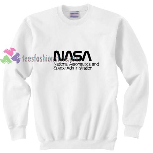 NASA White Sweatshirt