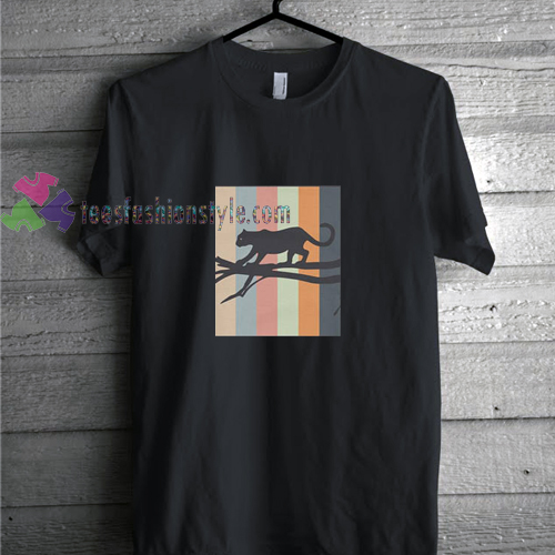 Panther Retro t shirt