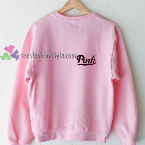 Pink Pocket Sweatshirt