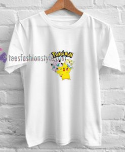 Pokemon Cartoon t shirt