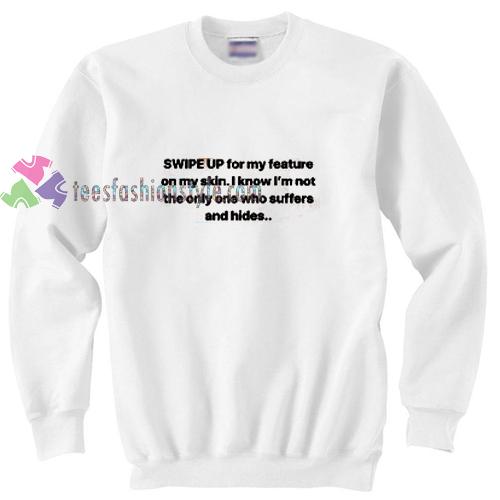 Swipe Up Sweatshirt