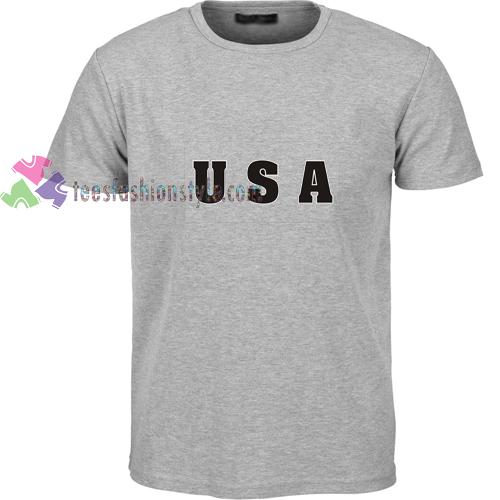 USA Grey t shirt