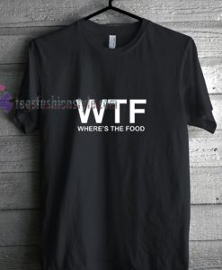 WTF Black t shirt