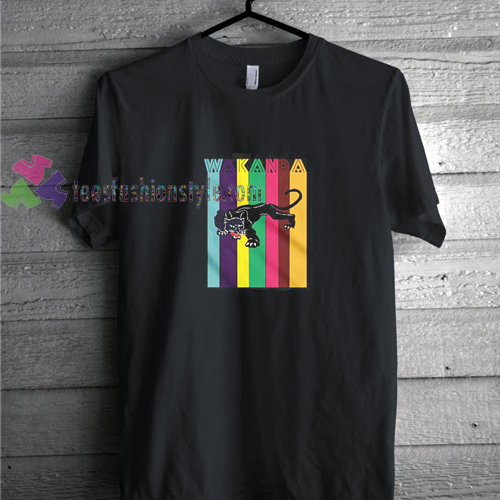 Wakanda Colour t shirt